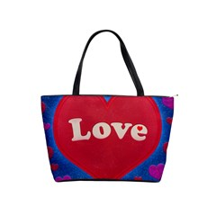 Love Theme Concept  Illustration Motif  Large Shoulder Bag