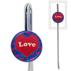 Love theme concept  illustration motif  Bookmark