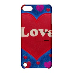 Love Theme Concept  Illustration Motif  Apple Ipod Touch 5 Hardshell Case With Stand