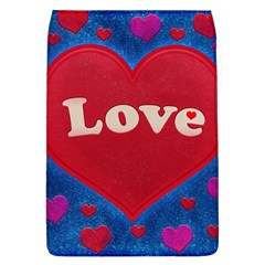 Love Theme Concept  Illustration Motif  Removable Flap Cover (large)