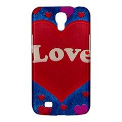Love theme concept  illustration motif  Samsung Galaxy Mega 6.3  I9200 Hardshell Case