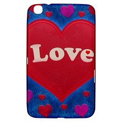 Love theme concept  illustration motif  Samsung Galaxy Tab 3 (8 ) T3100 Hardshell Case