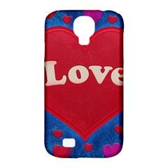 Love Theme Concept  Illustration Motif  Samsung Galaxy S4 Classic Hardshell Case (pc+silicone)