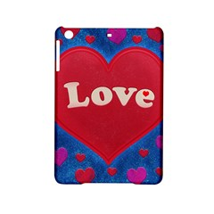 Love Theme Concept  Illustration Motif  Apple Ipad Mini 2 Hardshell Case