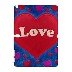 Love theme concept  illustration motif  Samsung Galaxy Note 10.1 (P600) Hardshell Case