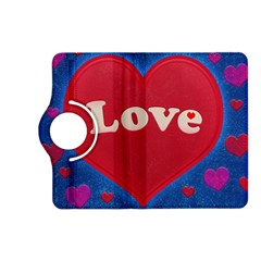 Love theme concept  illustration motif  Kindle Fire HD 7  (2nd Gen) Flip 360 Case