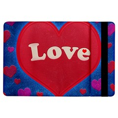 Love Theme Concept  Illustration Motif  Apple Ipad Air Flip Case