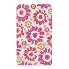Feminine Flowers Pattern Memory Card Reader (rectangular)