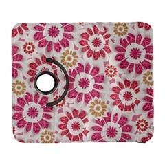 Feminine Flowers Pattern Samsung Galaxy S  Iii Flip 360 Case