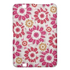 Feminine Flowers Pattern Kindle Fire Hd 8 9  Hardshell Case