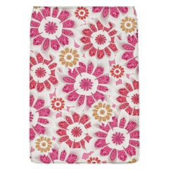 Feminine Flowers Pattern Removable Flap Cover (Large)