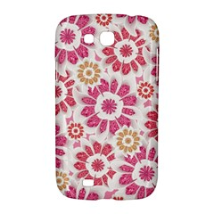 Feminine Flowers Pattern Samsung Galaxy Grand GT-I9128 Hardshell Case