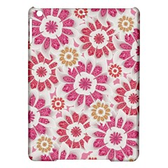 Feminine Flowers Pattern Apple Ipad Air Hardshell Case