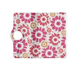 Feminine Flowers Pattern Kindle Fire HDX 8.9  Flip 360 Case