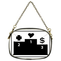 Preferences In Life Chain Purse (one Side)