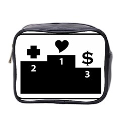 Preferences In Life Mini Travel Toiletry Bag (two Sides)