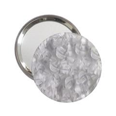 Abstract In Silver Handbag Mirror (2.25 )
