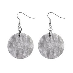 Abstract In Silver Mini Button Earrings