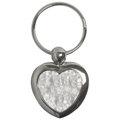 Abstract In Silver Key Chain (Heart)