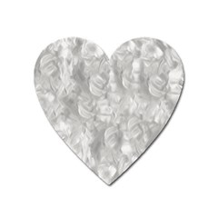 Abstract In Silver Magnet (heart)