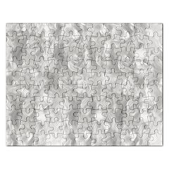 Abstract In Silver Jigsaw Puzzle (Rectangle)