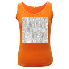 Abstract In Silver Women s Tank Top (Dark Colored)