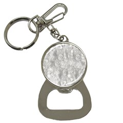 Abstract In Silver Bottle Opener Key Chain