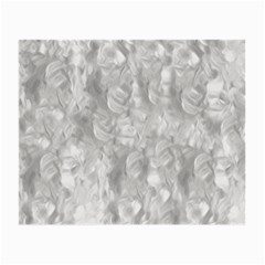 Abstract In Silver Glasses Cloth (small, Two Sided)