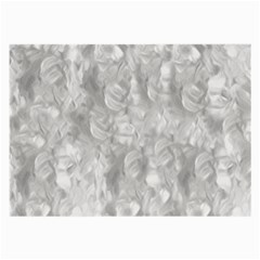 Abstract In Silver Glasses Cloth (Large)