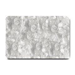 Abstract In Silver Small Door Mat