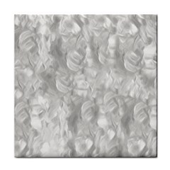 Abstract In Silver Face Towel