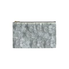 Abstract In Silver Cosmetic Bag (small)