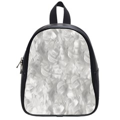 Abstract In Silver School Bag (small)