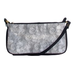 Abstract In Silver Evening Bag
