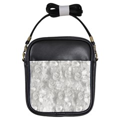 Abstract In Silver Girl s Sling Bag