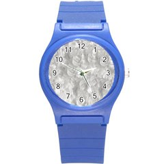 Abstract In Silver Plastic Sport Watch (small)