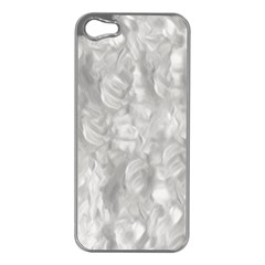 Abstract In Silver Apple Iphone 5 Case (silver)