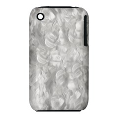 Abstract In Silver Apple iPhone 3G/3GS Hardshell Case (PC+Silicone)