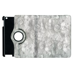 Abstract In Silver Apple iPad 3/4 Flip 360 Case
