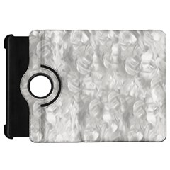 Abstract In Silver Kindle Fire HD 7  (1st Gen) Flip 360 Case