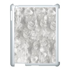 Abstract In Silver Apple iPad 3/4 Case (White)