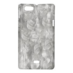 Abstract In Silver Sony Xperia Miro Hardshell Case