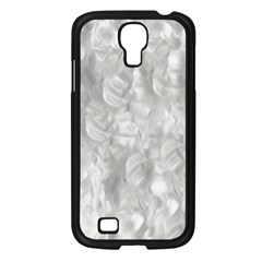 Abstract In Silver Samsung Galaxy S4 I9500/ I9505 Case (black)