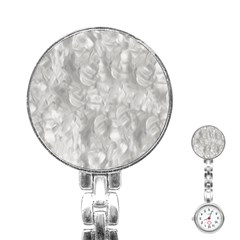 Abstract In Silver Stainless Steel Nurses Watch