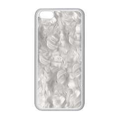 Abstract In Silver Apple iPhone 5C Seamless Case (White)