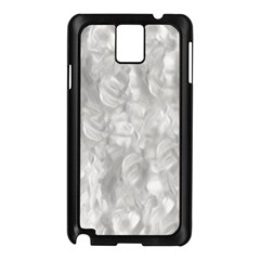 Abstract In Silver Samsung Galaxy Note 3 N9005 Case (Black)