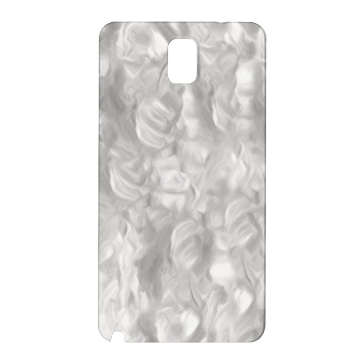 Abstract In Silver Samsung Galaxy Note 3 N9005 Hardshell Back Case