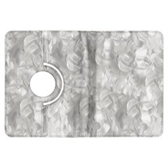 Abstract In Silver Kindle Fire HDX 7  Flip 360 Case
