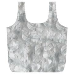 Abstract In Silver Reusable Bag (XL)