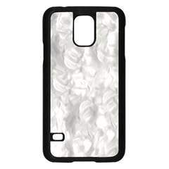 Abstract In Silver Samsung Galaxy S5 Case (black)